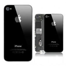 iPhone 4 Back Case - Black / White
