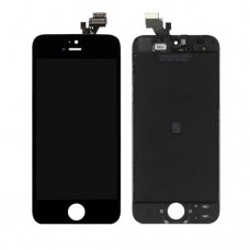 iPhone 5 Front Screen - Black / White